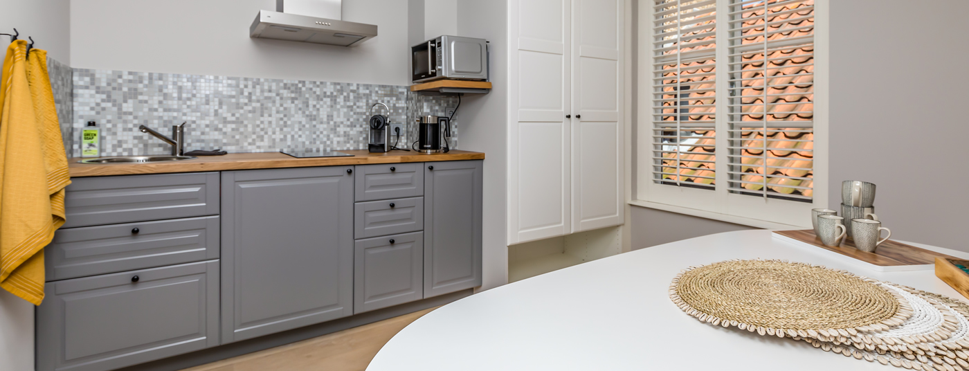 Eigen keuken in onze <strong>appartementen</strong>